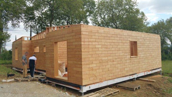 amazing brikawood des briques en bois pour construire sa propre maison colo with construire sa maison pas cher - Construire Sa Maison En Bois Pas Cher
