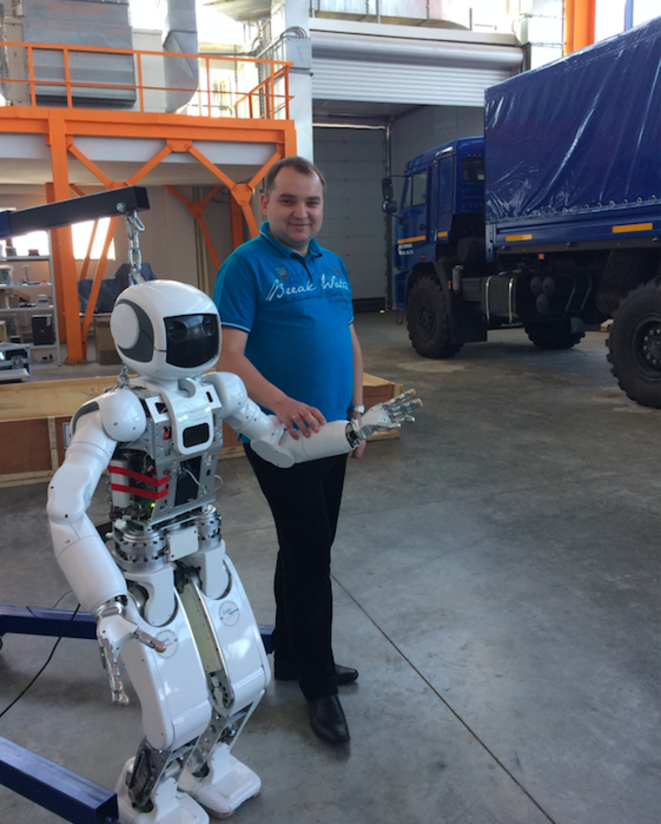 Alexandre Klimtchik Dans Son Laboratoire De Robotique Innopolis C AD